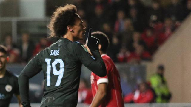Dank Sané: Manchester City im League-Cup-Finale