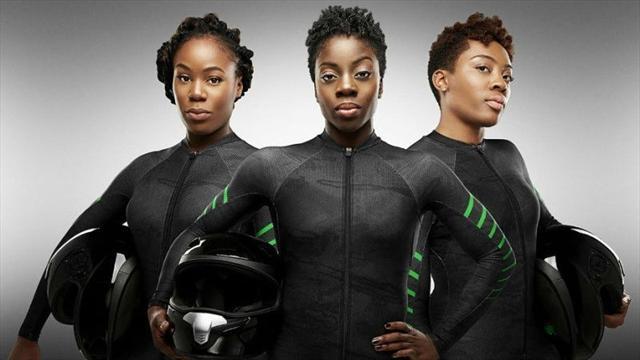 Nigerias damlag i bob skriver OS-historia i Pyeongchang