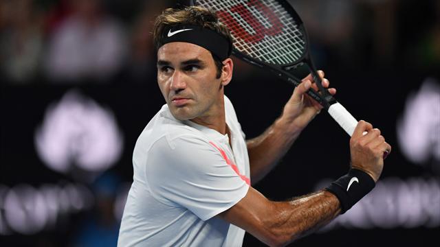 Federer ya está en octavos del Abierto de Australia