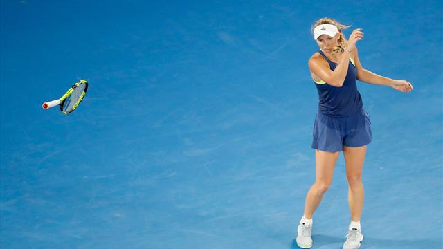 "Wozniacki : ""Ça me hante encore aujourd'hui"""