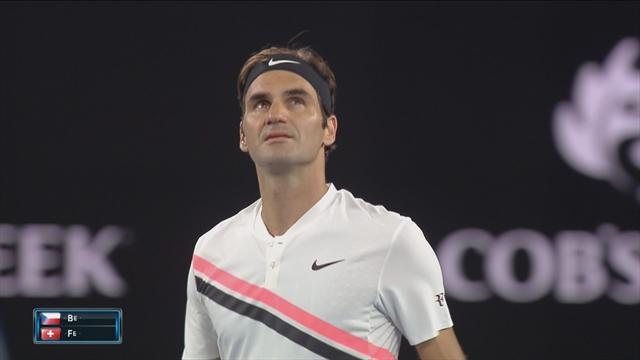 Avustralya Açık 2018: Tomáš Berdych - Roger Federer (Özet)