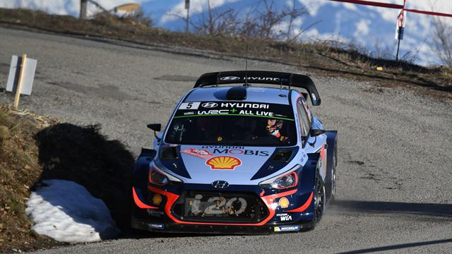 Neuville leads first shakedown of 2018