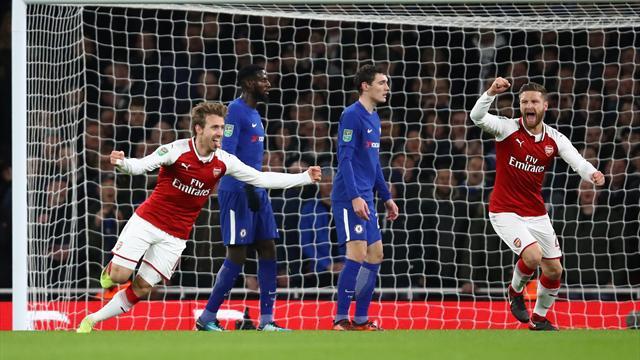 Wenger bestia nera di Antonio Conte: Chelsea ko 2-1, a Wembley ci va l'Arsenal