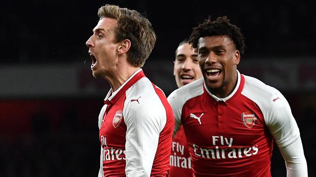 Granit Xhaka envoie Arsenal en finale — Foot