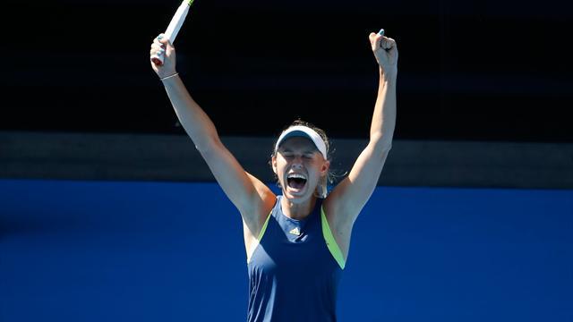 Wozniacki tient enfin sa finale à Melbourne