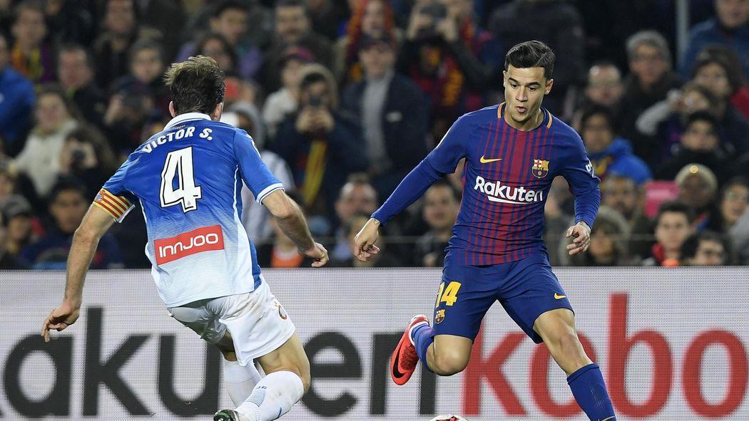 Image result for Barcelona 2 - 0 RCD Espanyol + valverde