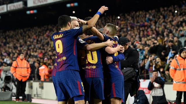 «Барселона» обыграла «Эспаньол» вответном матче ивышла вполуфинал Кубка Испании
