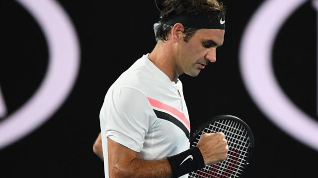 Roger Federer mantiene paso impecable en Abierto de Australia