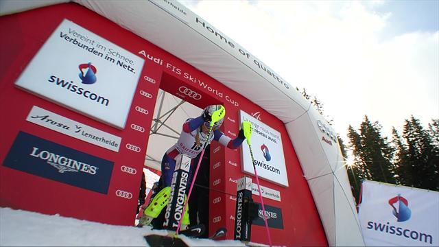 Victoire pour Holdener, Barthet dans le top 10 — Lenzerheide-Combiné
