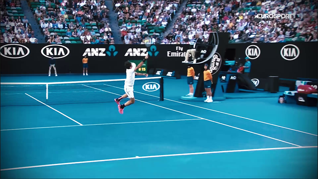 Rolex Minute : Chung trop juste, Federer trop grand