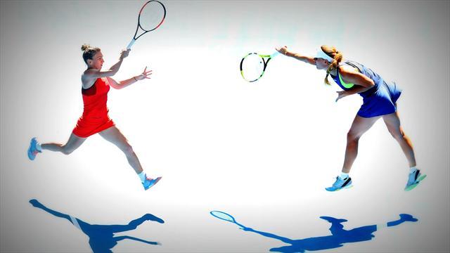 Halep-Wozniacki, finale de rêve pour le sacre d'une nouvelle reine