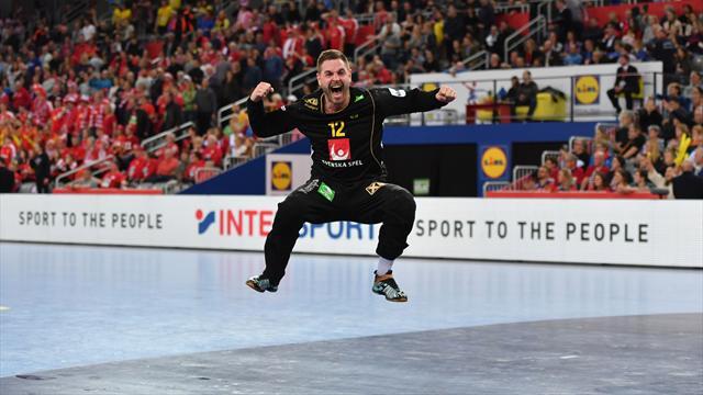 En finale, ce sera Suède-Espagne !