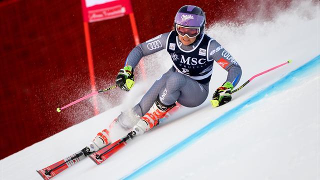 Le slalom géant féminin reporté à cause du vent