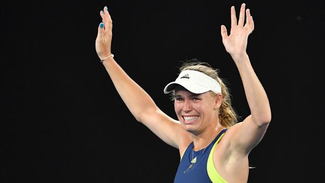 Grand Slam hasretine son veren isim Wozniacki oldu