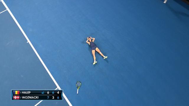 Avustralya Açık2018: Caroline Wozniacki - Simona Halep (Özet)