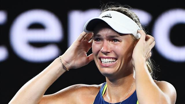 Wozniacki se défait de Kerber et consolide son statut de numéro 1