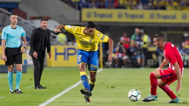 Atlético golea y hunde a Las Palmas de Paco Jémez