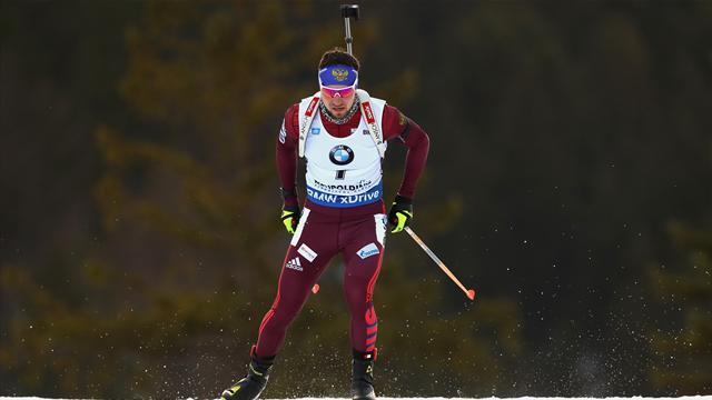 Русский биатлонист Логинов завоевал золото чемпионата Европы