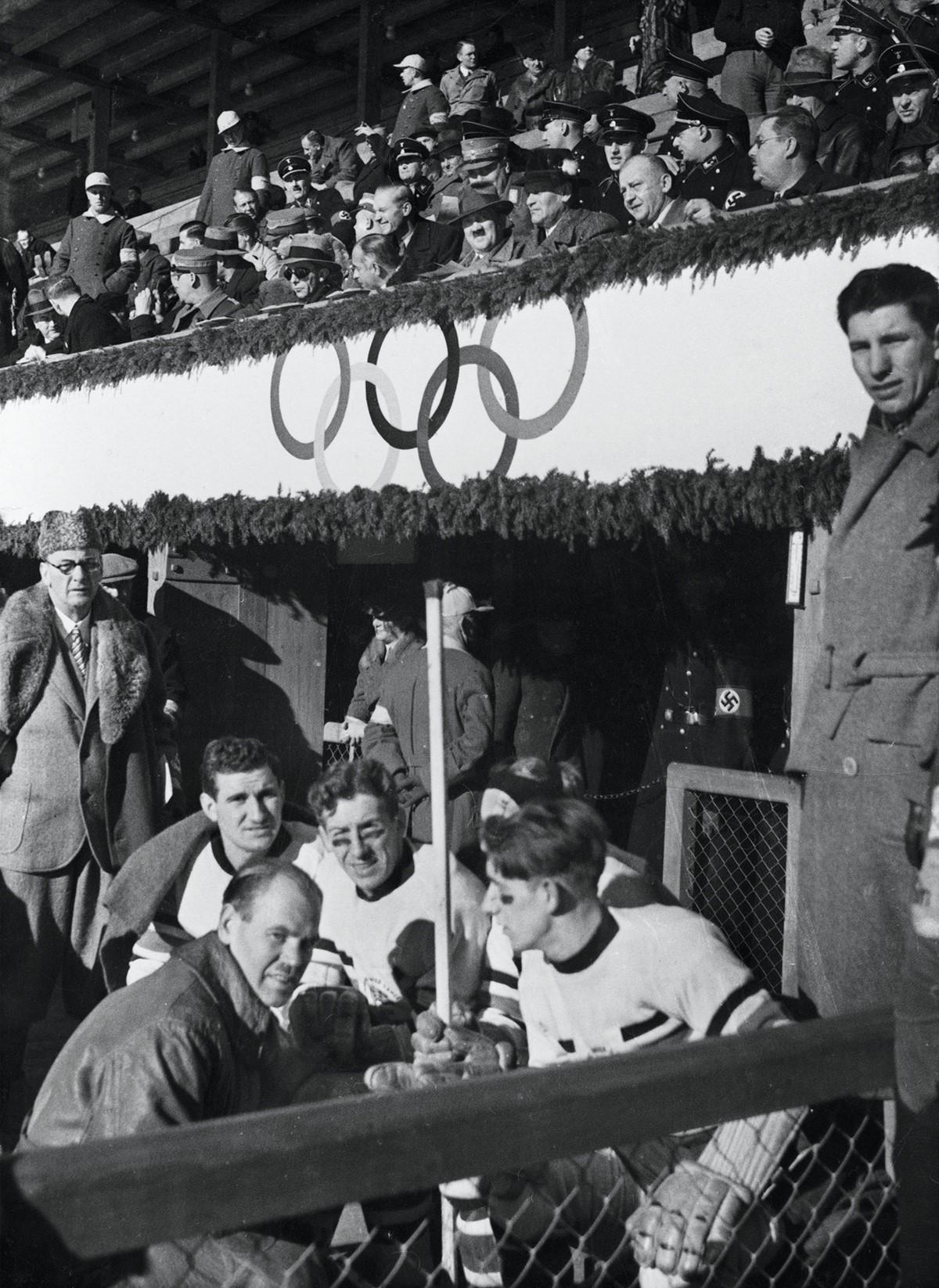 Олимпиада в Берлине в 1936 году
