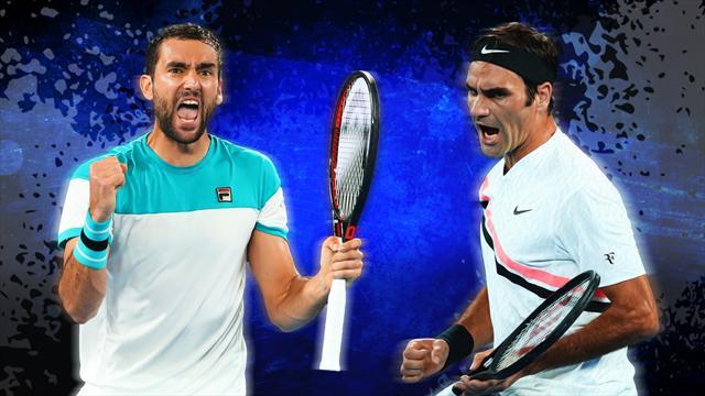 Federer-Cilic, l'évidence ou le contre-pied jusqu'au bout