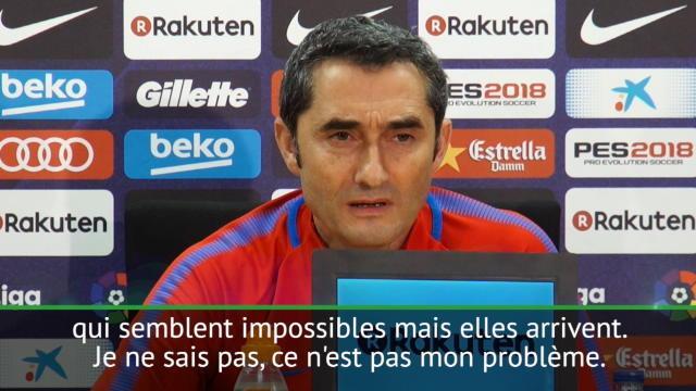 """Valverde sur Neymar au Real Madrid : """"Des choses impossibles peuvent arriver"""""""