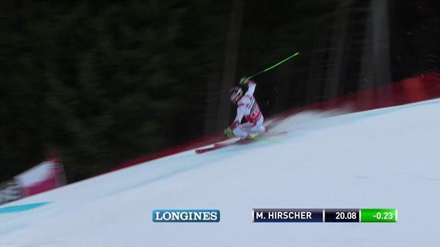 Hirscher facile à Garmisch-Partenkirchen