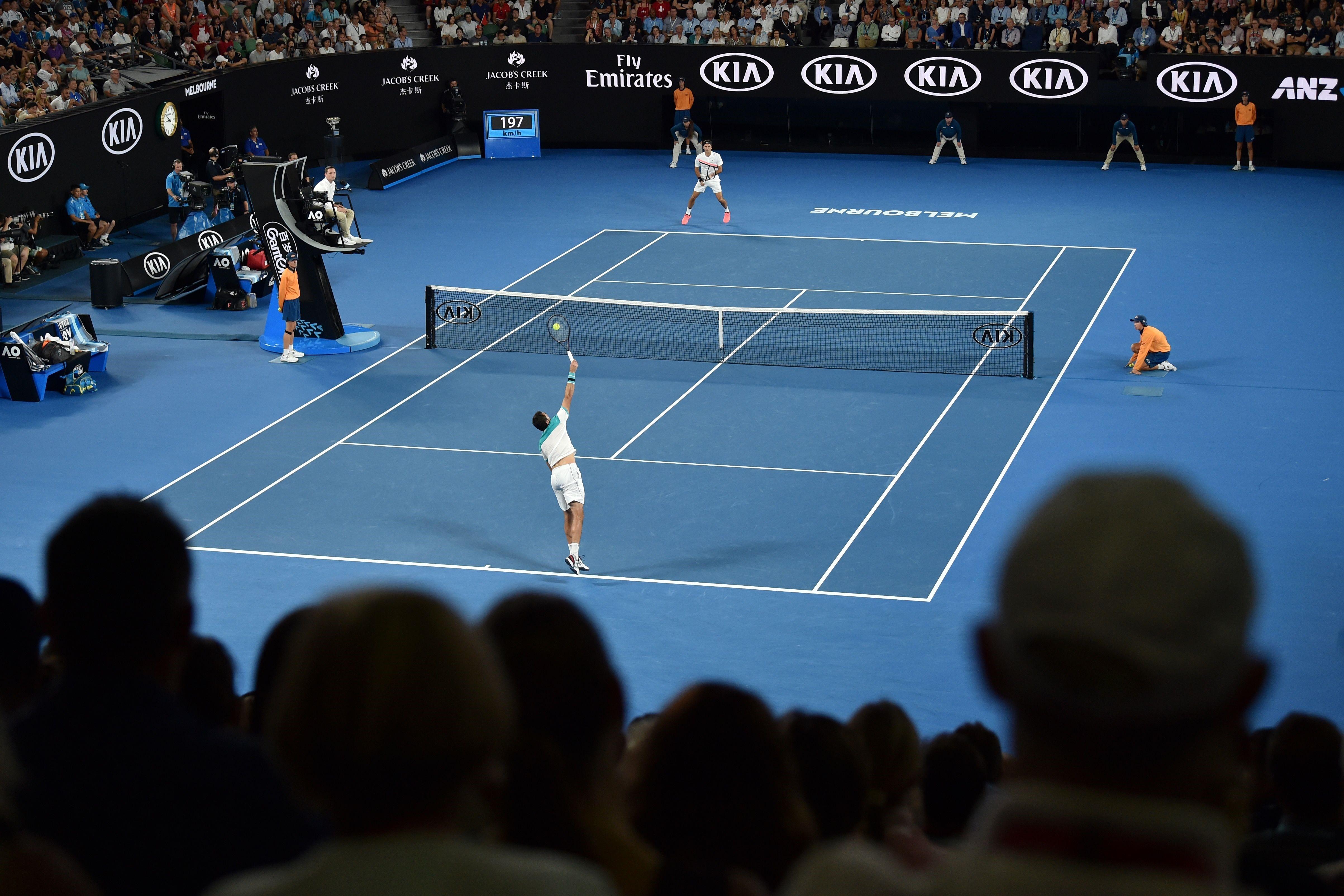 Marin Cilic - Roger Federer, 2014 Amerika Açık yarı finali