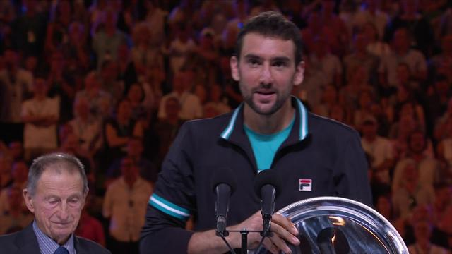Cilic: Hopefully I'm going to be lifting these trophies in future
