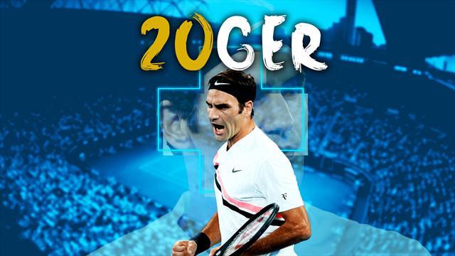Federer est plus que jamais Monsieur Grand Chelem