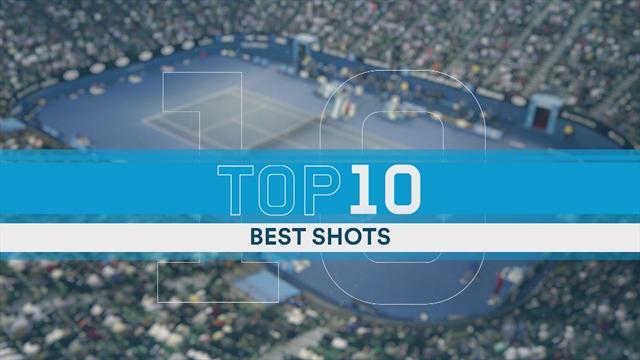 Cornet, Herbert, Thiem… : le Top 10 des plus beaux coups de la quinzaine de Melbourne
