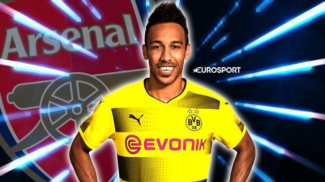 Mercato: Aubameyang ha detto si all'Arsenal