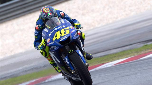 Viñales e Rossi davanti a tutti nel 2° giorno di test, Marquez scivola ma è 7° davanti a Dovizioso