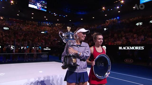 Rolex Minute: Wozniacki and Federer thrilled with Australian Open titles