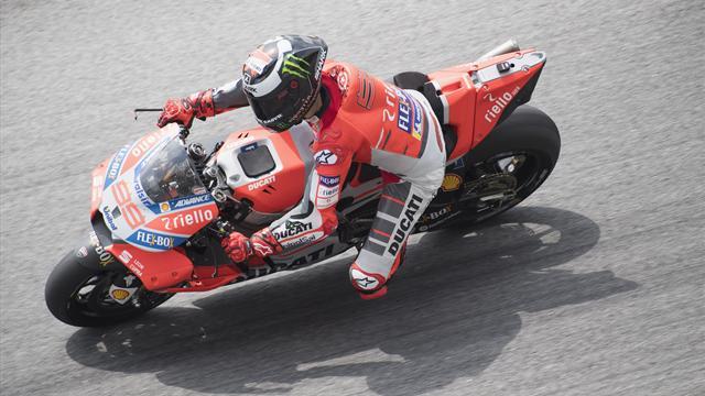 Lorenzo: 2018 Ducati 'doesn't feel natural'