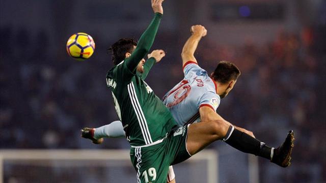 Andrés Guardado anota pero no evita caída del Betis