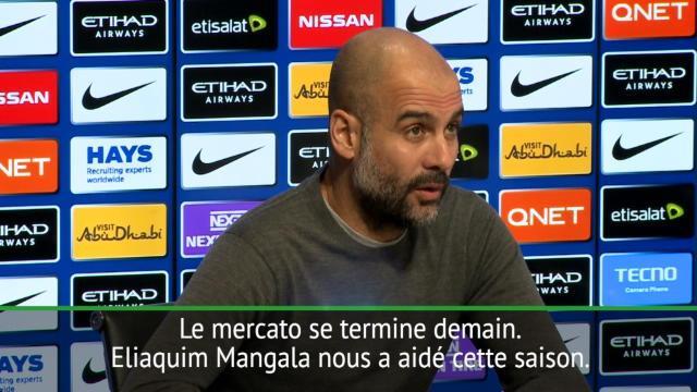 Guardiola : «Mangala va rester»