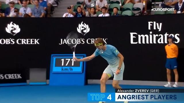 Зверев, Кирьос и еще 3 главных психа Australian Open