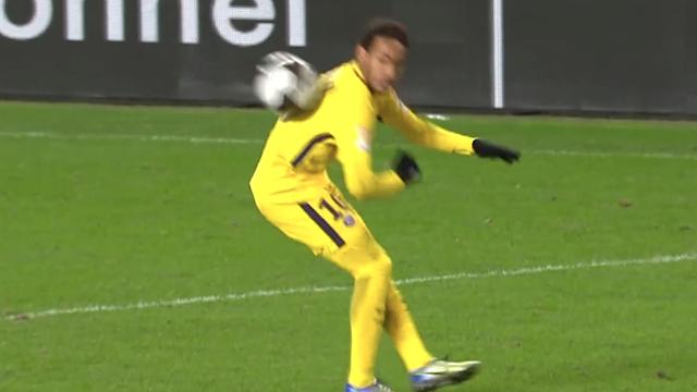 Contrôle du dos et sombrero : Neymar a bien chambré le Stade Rennais