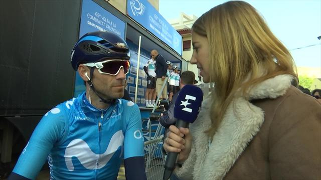 Valverde excited about return to racing at Vuelta a Valencia