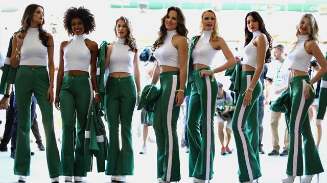 Rivoluzione sulla griglia di partenza in Formula 1: addio alle ombrelline!