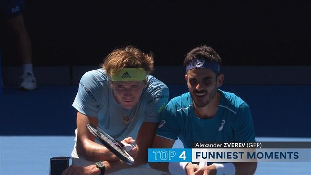 Australian Open Top 5 Funniest Moments