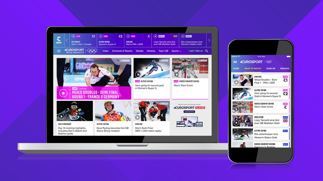 Eurosport.com Pyeongchang 2018