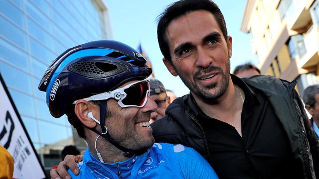 """Contador: """"Ahora soy un fan más de Valverde. Lo que está haciendo estos últimos años es tremendo"""""""
