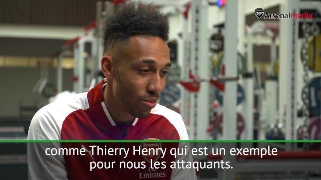 Mkhitaryan, Henry… Aubameyang est ravi de rejoindre Arsenal