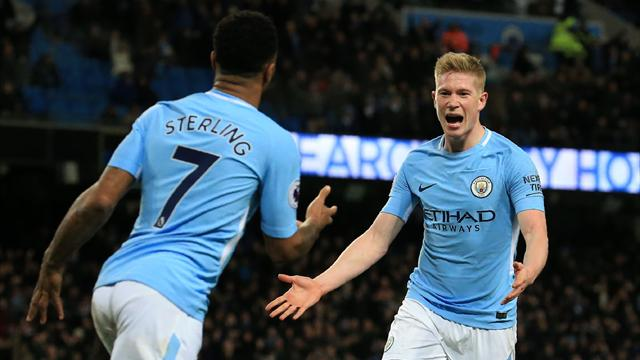 Man City : Sterling et De Bruyne de retour contre Chelsea