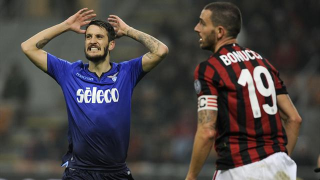 Les occasions étaient là, pas la finition : le résumé de Milan-Lazio