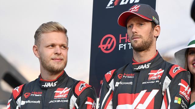 """Grosjean a """"stupéfié"""" Magnussen"""