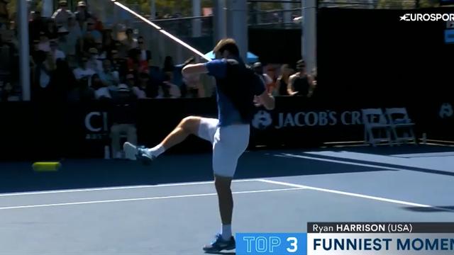 Harrison zeigt seine Fußball-Skills: Die lustigsten Momente der Australian Open