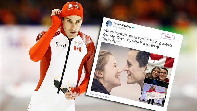 Överlevde mc-krasch och stroke - nu nygift medaljhopp i OS