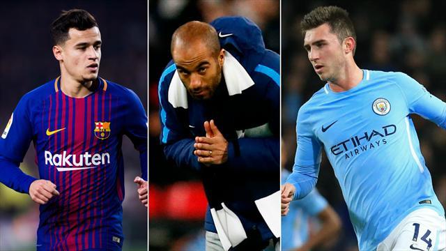 Coutinho, Lucas, Laporte… Le Top 10 des transferts de l'hiver